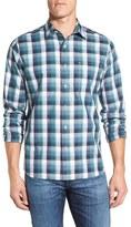 Maker & Company Men's Regular Fit Plaid Sport Shirt