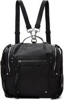 McQ Black Convertible Box Backpack