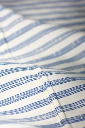 Melange Home Full/Queen 400 Thread Count Cotton Bamboo Stripe Sheet 4-Piece Set