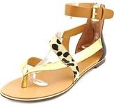 Report Conlan Women Open Toe Synthetic Multi Color Thong Sandal.