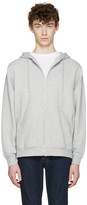 Alexander Wang Grey Zip-up Hoodie