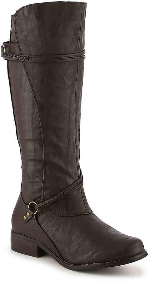 Journee Collection Harley Extra Wide Calf Riding Boot - Women's