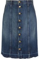 Current/Elliott The Short Sally Denim Skirt