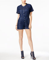 GUESS Boiler Chambray Romper