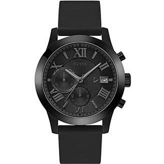 GUESS Men's Analogue Quartz Watch with Silicone Strap W1055G1