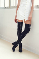 Jeffrey Campbell Womens LAILA THIGH HIGH BOOT