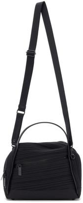 Pleats Please Issey Miyake Black Bias Pleats Shoulder Bag