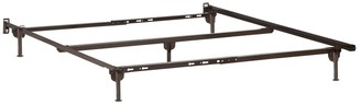 Atlantic Furniture Metal Bed Frame Twin-Twin XL-Full-Queen Glides