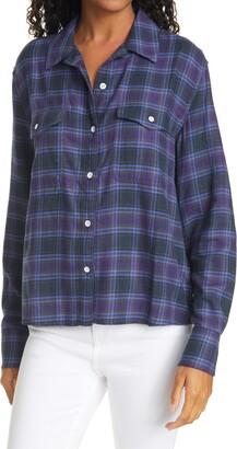 Rag & Bone May Plaid Button-Up Shirt