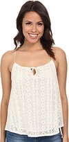 C&C California Women's Geo Lace Cami Top