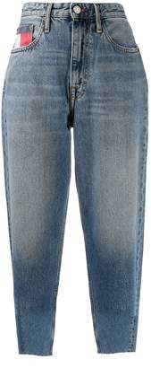 Tommy Jeans high-waisted cropped mom jeans