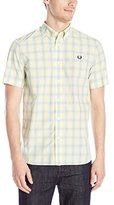 Fred Perry Men's Tartan Gingham Mix Shirt