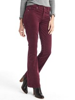 Gap Stretch corduroy baby boot pants