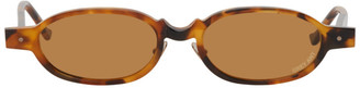 Grey Ant Tortoiseshell Wurde Sunglasses
