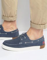 Timberland Newport Canvas Boat Shoes