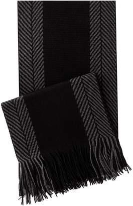 Van Heusen Men's Classic Herringbone Knit Scarf