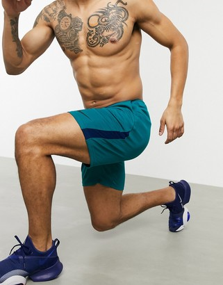 Nike Training dry 5.0 shorts in blue