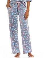 Sleep Sense Feather-Print Sleep Pants