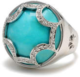 Elizabeth Showers Turquoise Maltese Ring, Size 7