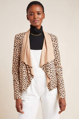 Bagatelle Draped Cheetah Jacket