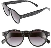 Komono Clement 50mm Round Sunglasses