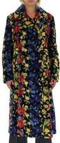 Junya Watanabe Mixed Patterned Straight Coat