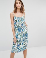 Warehouse Floral Cami Midi Dress