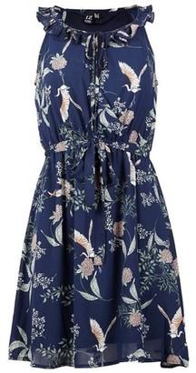 Dorothy Perkins Womens *Izabel London Navy Floral Waist Dress, Navy