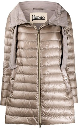 Herno Quilted Feather-Down Jacket