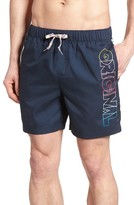 Original Penguin Men's Volley Swim Trunks