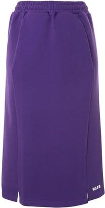 MSGM Paneled Pencil Skirt
