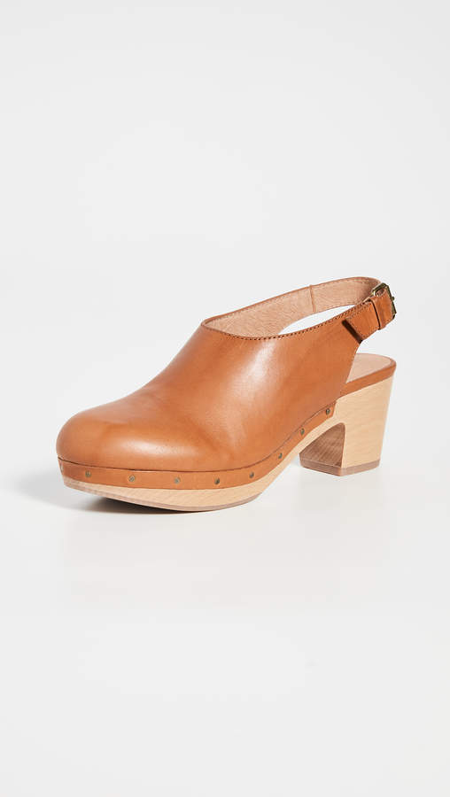 Madewell The Marlo Slingback Clogs