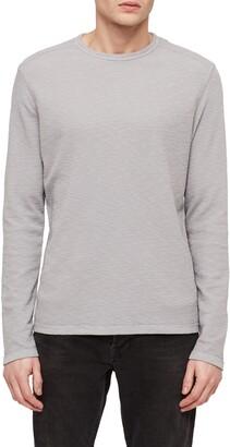 AllSaints Clash Slim Fit Crewneck Thermal T-Shirt