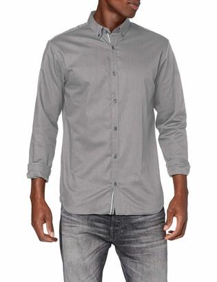 Jack and Jones Men's JPRFOCUS Solid Shirt L/S Casual