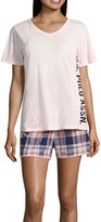 U.S. Polo Assn. Shorts Pajama Set-Juniors