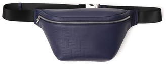 Fendi FF Logo Embossed Belt Bag