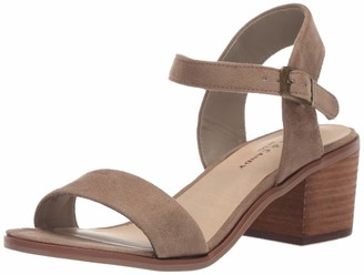 Rock & Candy Women's ROSEE Heeled Sandal Taupe 10 Medium US
