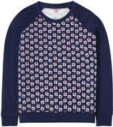 Cath Kidston Geo Flower Sweatshirt