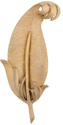 Susan Caplan Vintage 1960s Trifari Leaf brooch