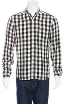 Shipley & Halmos Gingham Flannel Shirt