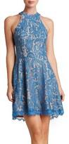 Dress the Population Women's Angie Halter Dress