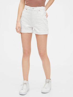 Gap High Rise Mom Shorts
