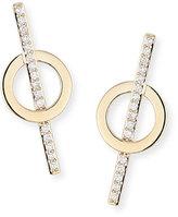 Lana Diamond Lock Stud Earrings