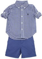 Ralph Lauren Cotton Oxford Shirt & Gabardine Shorts