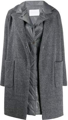 Fabiana Filippi layered midi coat