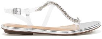Schutz Gabbyl Embellished Sandal