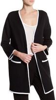 Premise Studio Tipped Sweater Coat