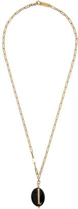 Isabel Marant Gold Stone Necklace