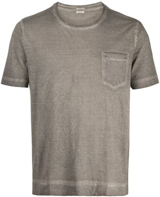 Massimo Alba crew neck chest pocket T-shirt