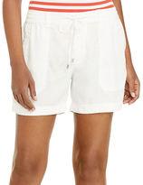 Lauren Ralph Lauren Drawcord Patch-Pocket Shorts